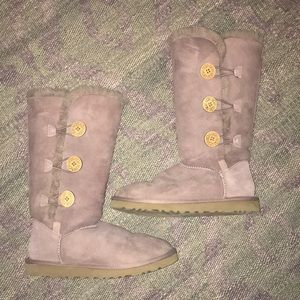 Ugg Bailey Button Sz 8 Boots